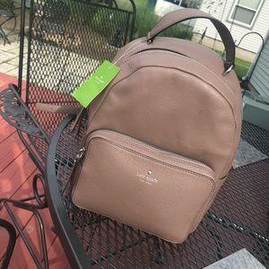 NWT ♥️ Kate Spade Brown Backpack Bookbag